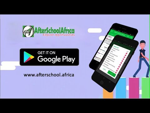 Introducing After School Africa Scholarship App