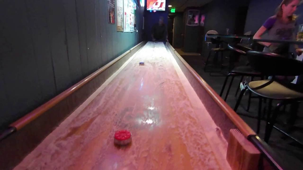 Shuffleboard Table Bar