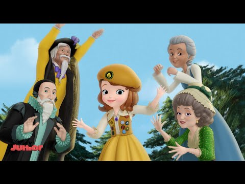 Sofia The First - Mystic Meadows Song - Official Disney Junior UK HD