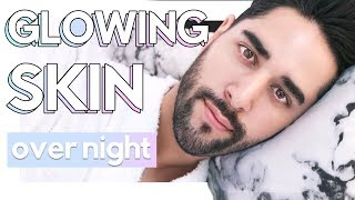 Wake Up With Perfect Glowing Skin Everyday! Night Skincare Routine -  James Welsh