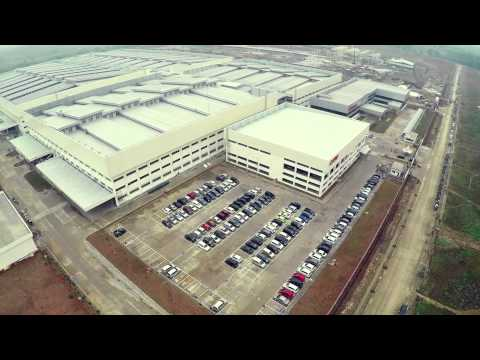 Phantom 2 w/Gopro Hero 4, Honda 4 Plant Indonesia