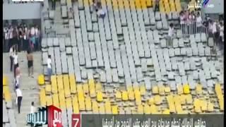 مع شوبير - اشتباكات جماهير الزمالك وتكسير ملعب برج العرب بعد اشتباكات مع الأمن