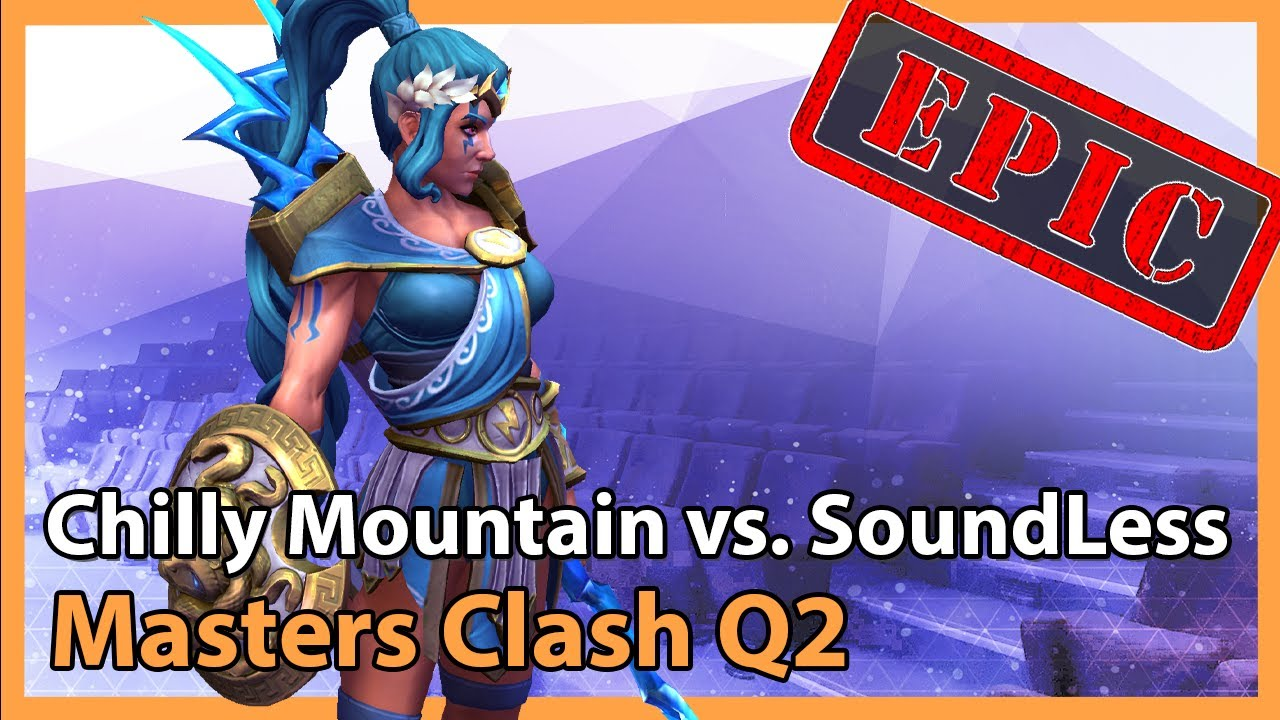 Chilly Mountain vs. SoundLess - Masters Clash Q2 - Heroes of the Storm