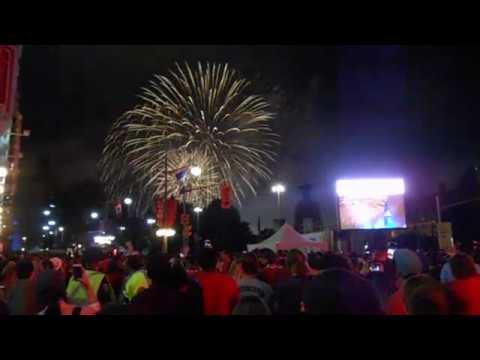 Canada 150 Fireworks Finale from Confederation Square, Ottawa