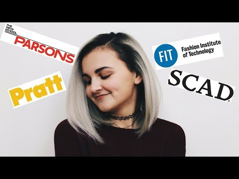How I Got Into The Top Fashion Schools! | My Fashion Design