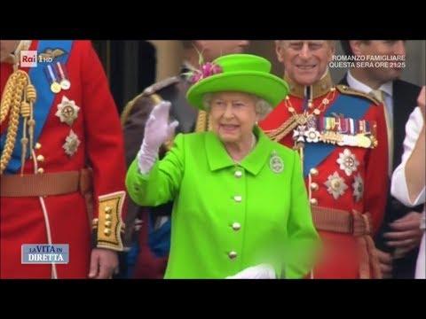 Elisabetta II, i segreti della regina più longeva di sempre - La Vita in Diretta 16/01/2018
