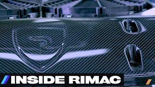 Rimac Electric Vehicle Carbon Fiber Secrets [Part 3] -- /INSIDE RIMAC