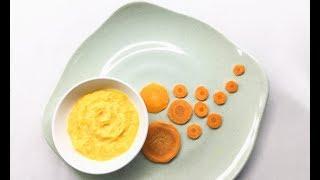 Cà rốt nghiền sữa chua cho bé ăn dặm - món ngon vị quyến rũ dễ dàng chinh phục các bé