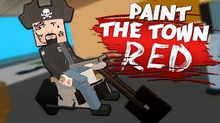 BIKERS HAVE INVADED!! - New Castle & More Workshop Creations - Paint The Town Red Gameplay
