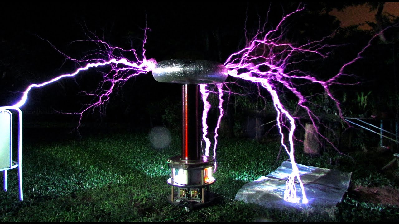 Bobina De Tesla Armageddon Tesla Coil Upgrade Video