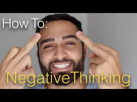 How to GET OVER Negative Thinking | 2 Steps
