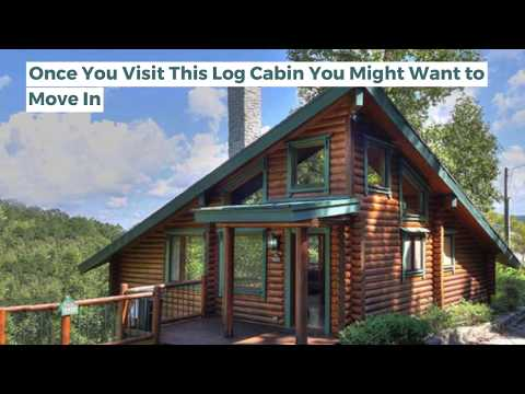 Once You Visit This Log Cabin You Might Want to Move In