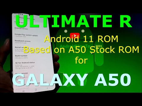 Ultimate R ROM for Samsung Galaxy A50 Android 11 One UI 3.1