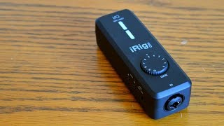 IK Multimedia iRig Pro I/O Review