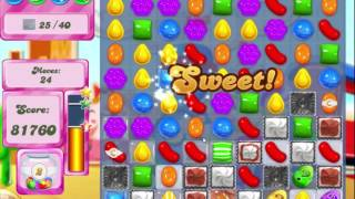 Candy Crush Saga Level 447 Clear all the Jelly!
