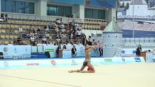 Александра Солдатова - Мяч(многоборье) 20.7 WCC Kazan 2018