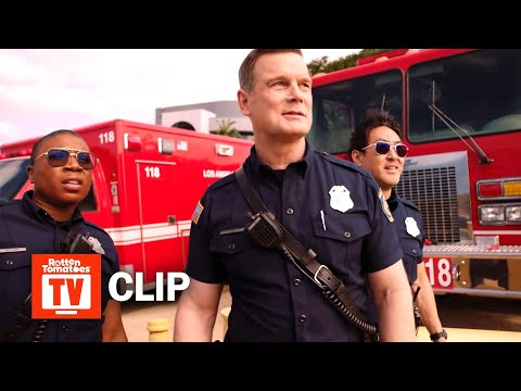 9-1-1 S02E07 Clip | 'The Team Performs A Risky Rescue' | Rotten Tomatoes TV