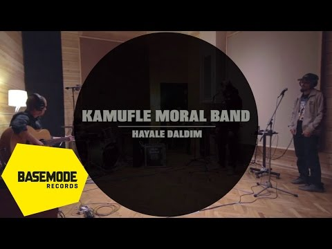 Kamufle Moral Band - Hayale Daldım | Studio Session | Video