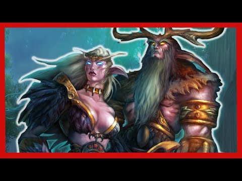 Origin of the Night Elves - World of Warcraft Lore