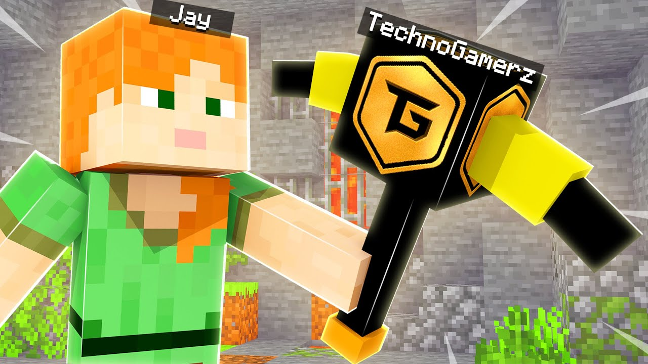 Minecraft But YouTubers Are Pickaxes