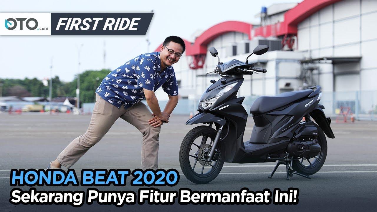 Honda Beat 2020 First Ride Lebih Bertenaga Dan Lebih Irit Oto Com Youtube