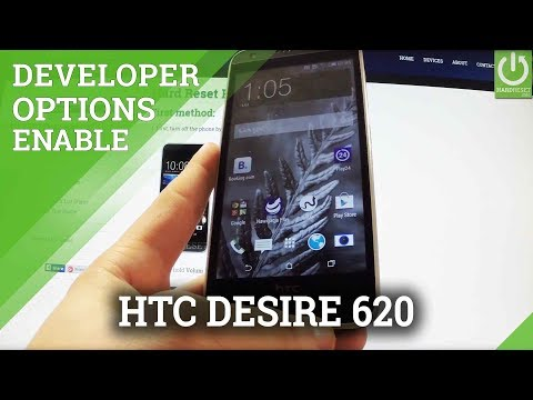 HTC Desire 620 Developer Options / Enable USB Debugging