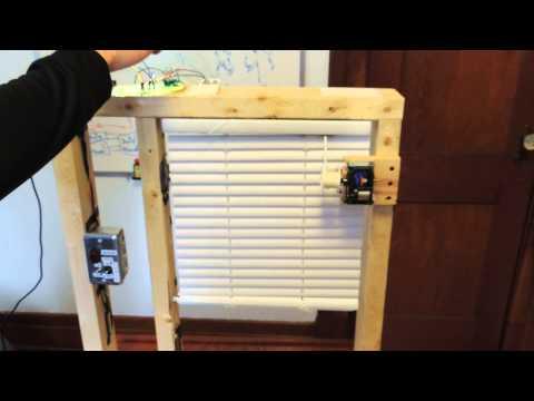 Project z wave wekkerradio doovi for Z wave motorized blinds