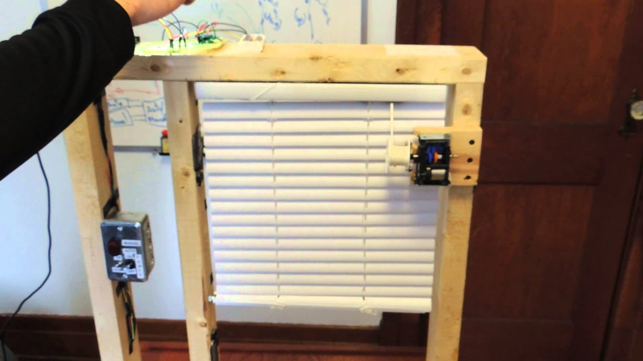 Project video motorized blind youtube for How to install motorized blinds