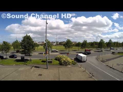 Wind sound, busy Road Sound - Nature Sounds HD