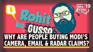 People Are Buying Modi's Email, Camera & Radar Claims, But Why? | The Quint