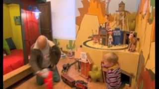 Kids Crooked House Train Station