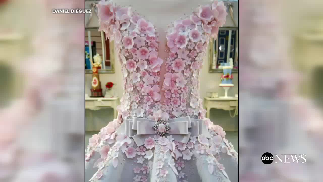 Wedding dress cake pictures