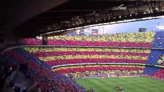 Есть и будем   100 тысяч фанатов поют гимн Барселоны(, 2013-07-11T15:28:51.000Z)