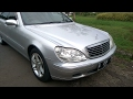 Mercedes-Benz S-Class [W220] Start Up & In Depth Review Indonesia