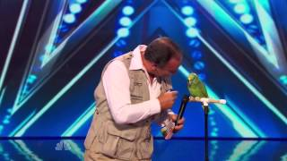 Download America's Got Talent S09E06 Joe the Birdman & Tika Talking Bird Act Mp3 and Videos
