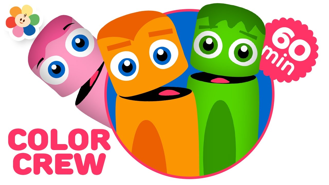 colors for kids color learning videos for children full episodes of the color crew babyfirst youtube