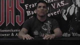 Frank Shamrock VS Cung Le Press Conference PART 1