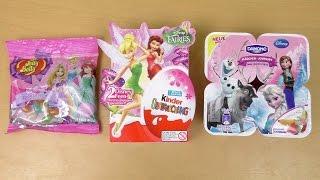 Disney Frozen Yogurt | Disney Princess Jelly Belly | Disney Fairies Surprise Eggs