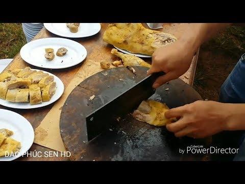 Dao Chặt Thịt Gà Vịt Luộc Đẹp Không Bị Nát - Dao Phúc Sen HD