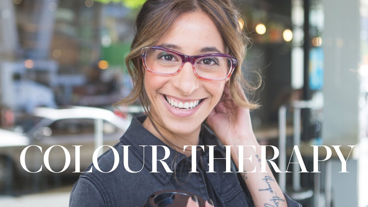 Colour therapy for beauty - Fall Glasses Trends Colour Therapy