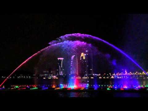 Musical fountain Marina Putrajaya 1