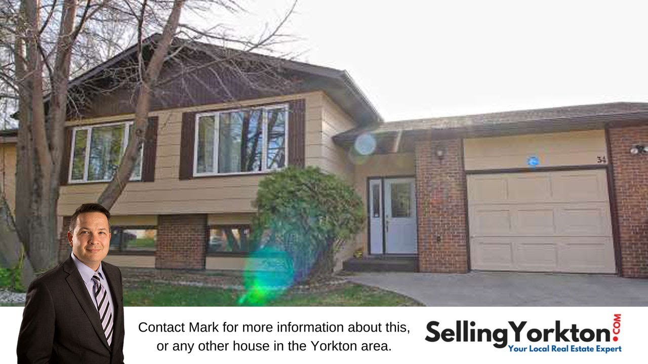 34 Marquis Crescent N, Yorkton, SK, S3N 3L6 - YouTube