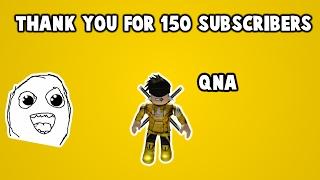 150 Abonnés QnA Vidéo (fr) Roblox