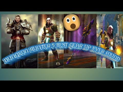 DUNGEON HUNTER 5 || THE BEST GEAR UP EVER FOUND || HOW TO ALWAYS GET IT ||