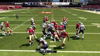 Madden 25::XBOX ONE Gameplay::AMAZING TOP 100 SHOWDOWN-Patriots Vs. 49ers-Online Gameplay XboxOne