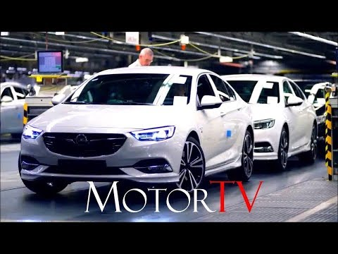CAR FACTORY : OPEL FACTORY AT RUSSELESHEIM l INSIGNIA/ASTRA l FULL ASSEMBLY LINE (NO MUSIC)