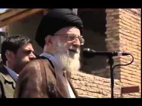 August 11, 2012*16:53*Ayatullah Khamenei visits Earthquake region* East Azerbaijan Province.