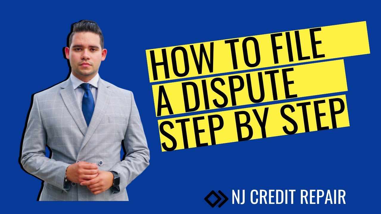 How to file a letter of dispute to remove negative items from your credit.