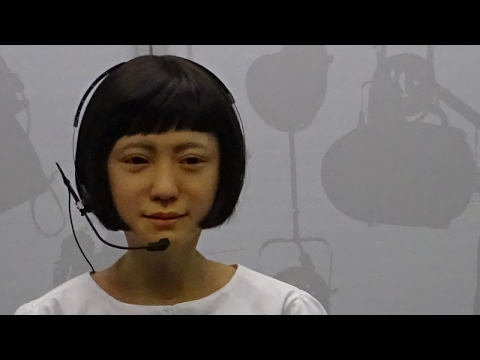 Sexy Japanese ROBOT women (Kodomoroid the android)