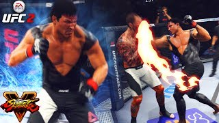 Ryu! Street Fighter Meets UFC! TRASH TALKER RAGED! EA Sports UFC 2 Ultimate Team Gameplay